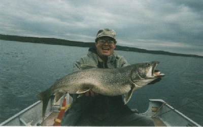Lake Trout Trophy - Largest Trout 1999